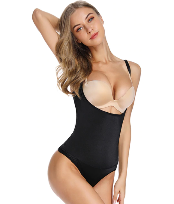 Sexy Thong Bodysuit Waist & Stomach Body Shaper - UptownFab™