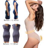 Slimming Bodysuit Shaper - With Easy Access Bathroom Gusset - UptownFab™