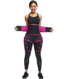 Waist Trainer Belly & Thigh Fat Burning Weight Loss Wrap with Butt Lifter - UptownFab™