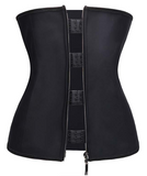 "Plus Size ""Clip & Zip"" Waist Trainer - Triple Hook and Zippered Body Shaper! - UptownFab™"