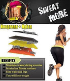 Plus Size Sauna Pants - Waist Slimming Capris ~ Weight Loss Enchancer! - UptownFab™