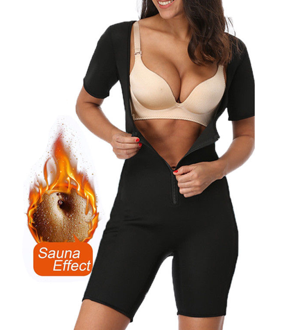 Sauna Sweat Suit - Full Body Shaper for Women ~ Lose Weight! - UptownFab™