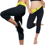 Sauna Pants - Waist Slimming Capris ~ Weight Loss Enchancer! - UptownFab™