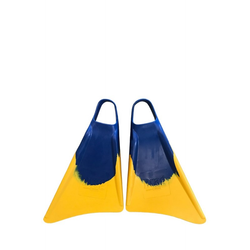 DRAG FINS POWER BY ERIZOS BLUE YELLOW