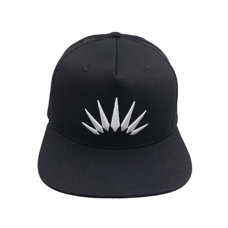 ERIZOS BLACK TRUCKER CAP