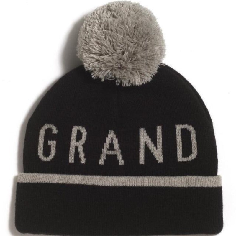 GRAND FLAVOUR BEANIE STRIPTEASE BLACK