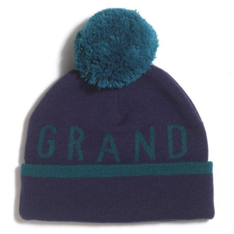 GRAND FLAVOUR BEANIE STRIPTEASE NAVY