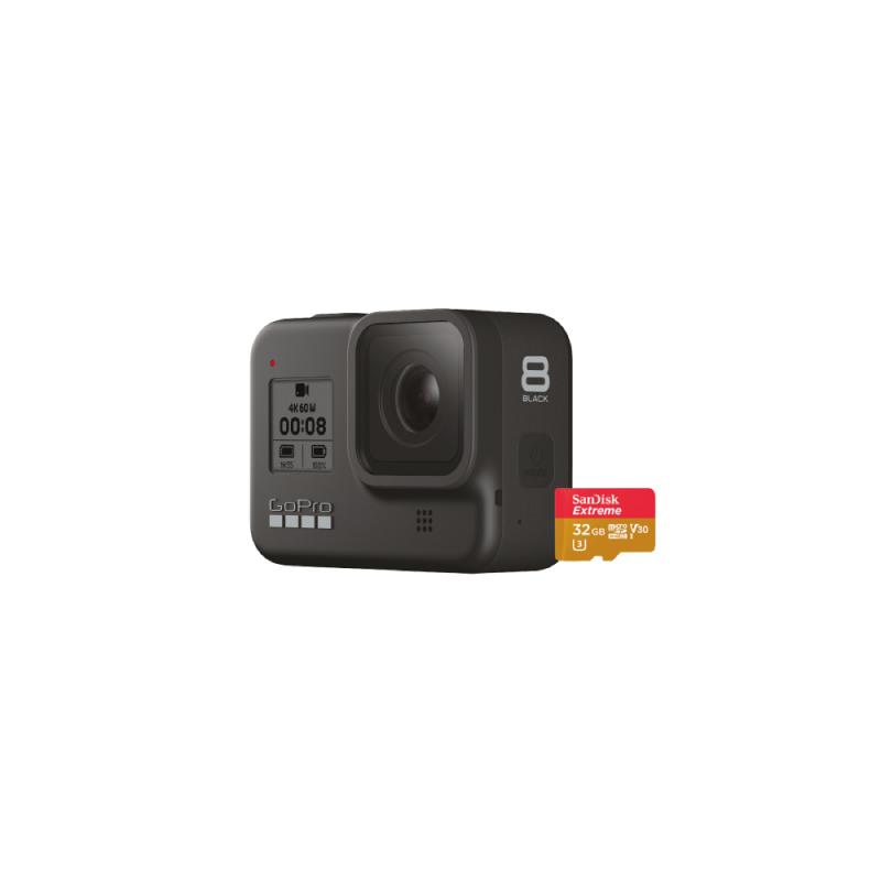GOPRO HERO 8 SPECIALTY BUNDLE + SD CARD