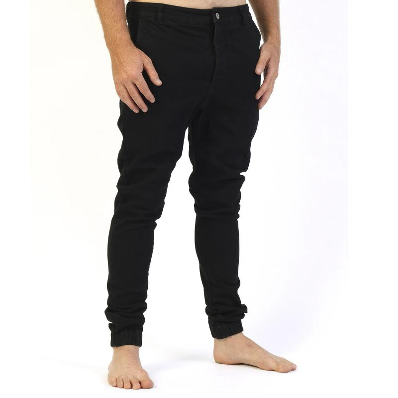 GRAND FLAVOUR PANT LATE NIGHT BLACK