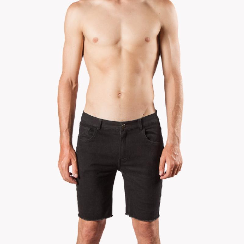 ERIZOS SHORT DENIM BLACK