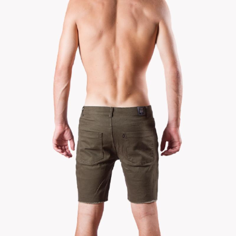 ERIZOS SHORT DENIM GREEN