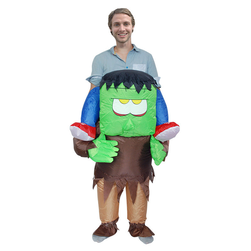 Monster Inflatable Costume For Adults  sc 1 st  AliCostumes.com & Monster Inflatable Costumes For Adults u0026 KidsHalloween CostumeBlow ...