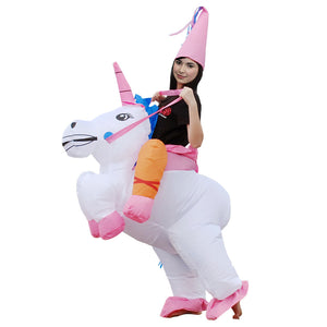 Unicorn Inflatable Costume | Inflatable Costumes For Adults | Halloween Costume | Blow Up Costume