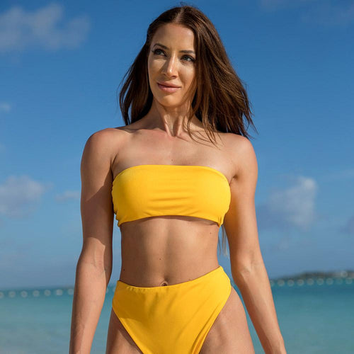 Cherí Swim - Paradise- Yellow Top