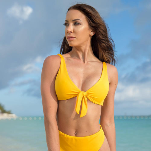 Cherí Swim - Castaway - Yellow Top