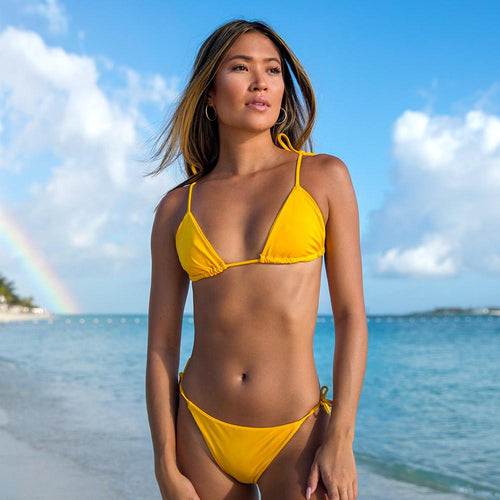 Cherí Swim - Abaco - Yellow Top