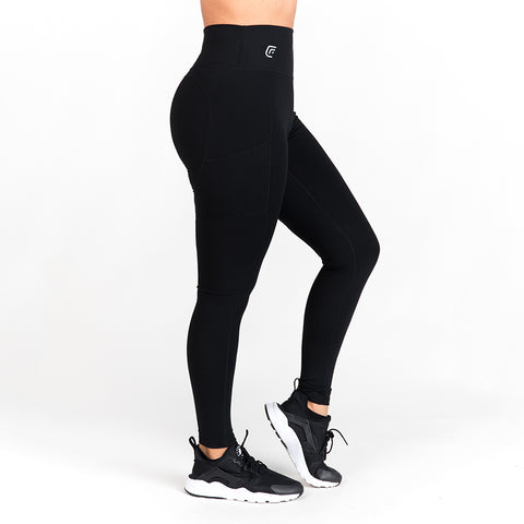 Flex Black Leggings