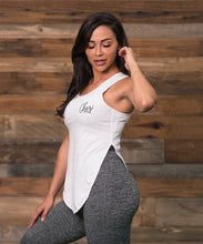 Cherí Fit - Logo - White Tank