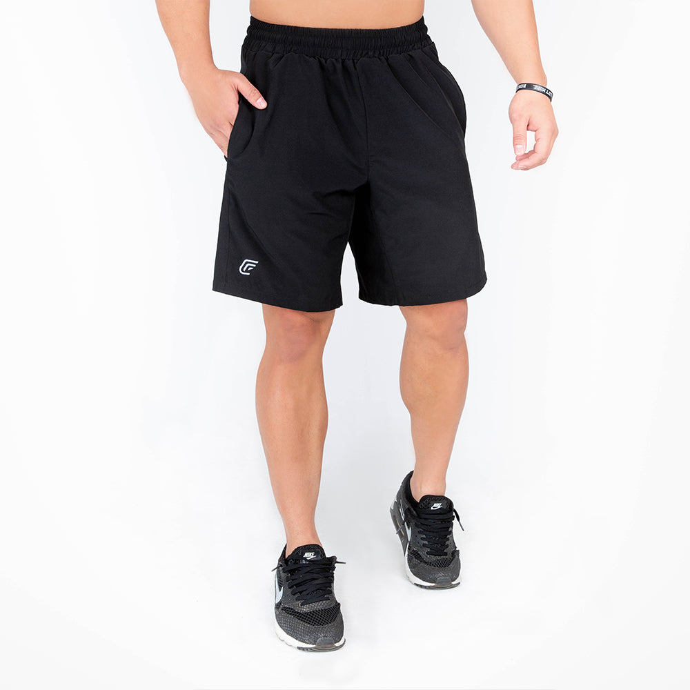 Men's Black Tech Shorts