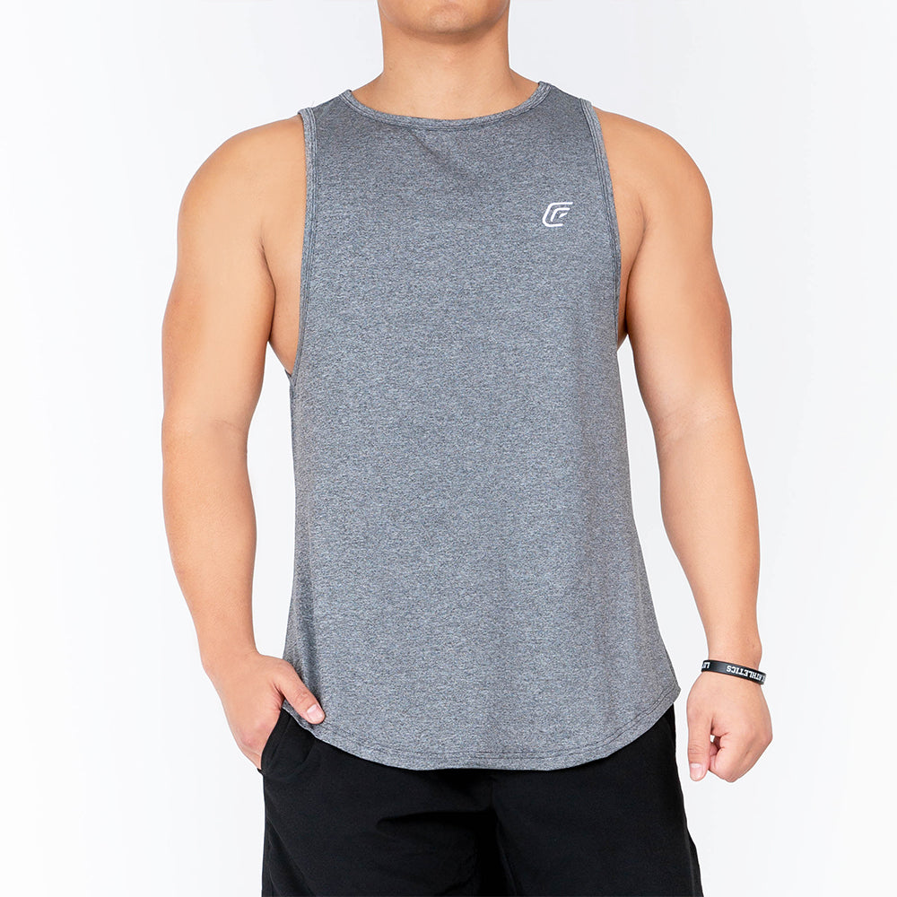 Load image into Gallery viewer, Men's Gray Tank
