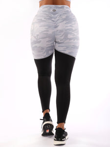 Duo Scrunch Camo Leggings - SOLD OUT