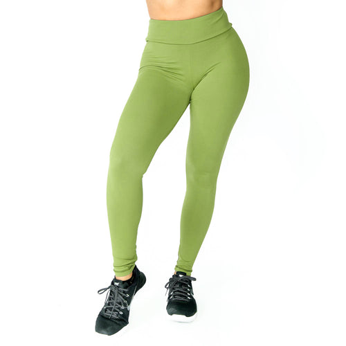 Scrunch Olive Leggings