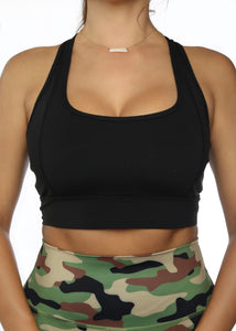 Black Basic Sports Bra