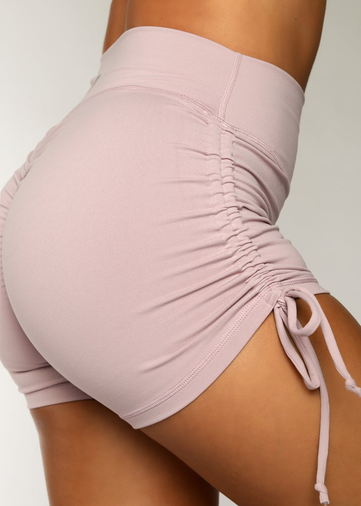 Load image into Gallery viewer, Lavender Hermosa Scrunch Shorts