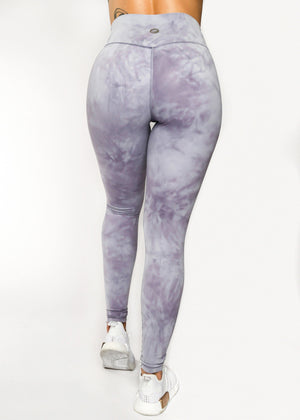 Load image into Gallery viewer, All Tied Up Legging Purple Tie Dye
