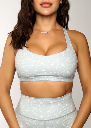 Load image into Gallery viewer, The Catch Sports Bra - Snow