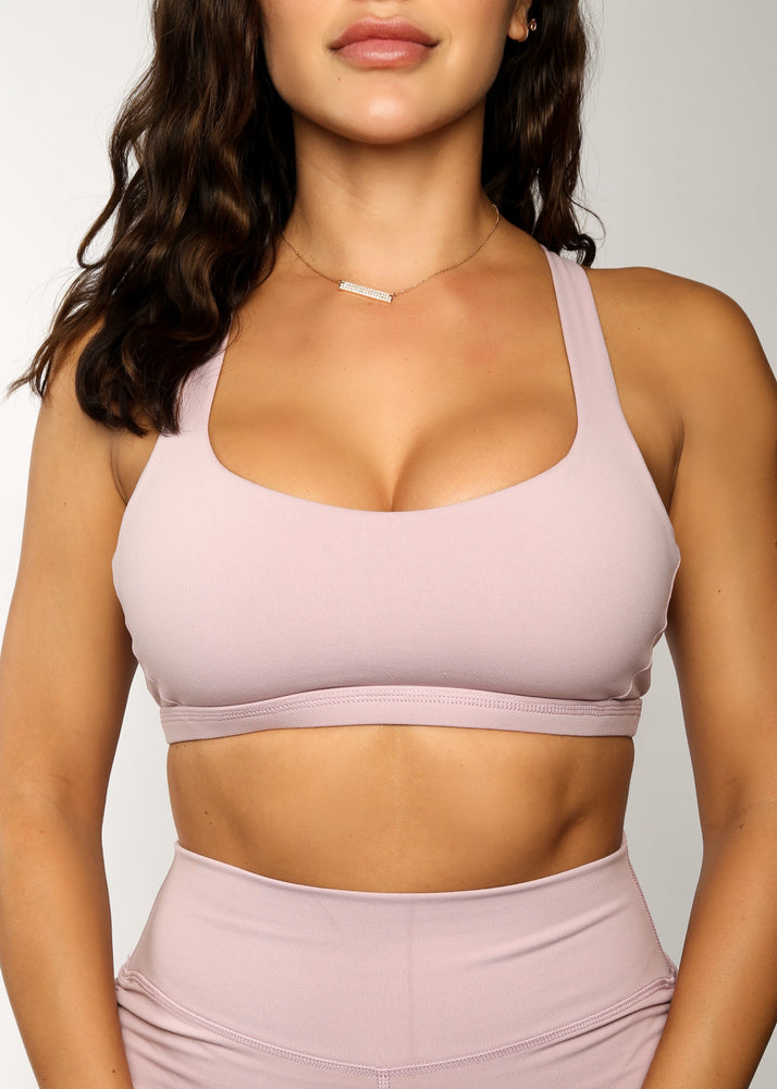 The Catch Sports Bra - Lavender