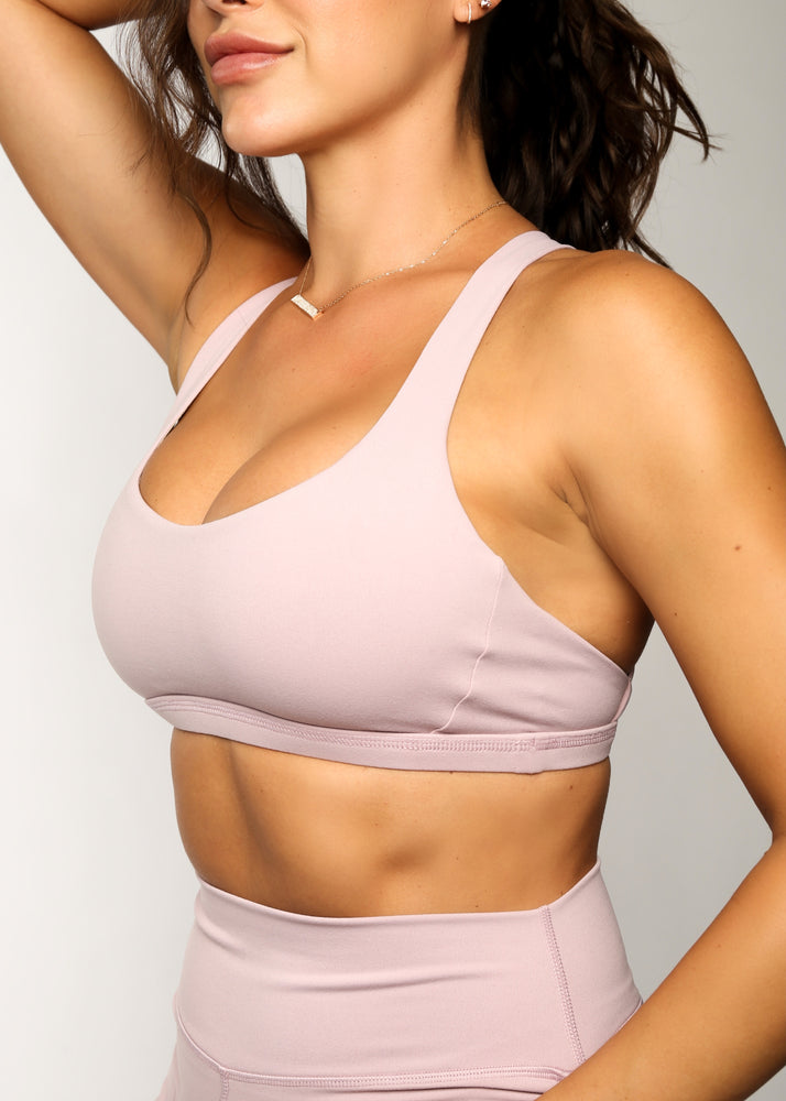 Load image into Gallery viewer, The Catch Sports Bra - Lavender
