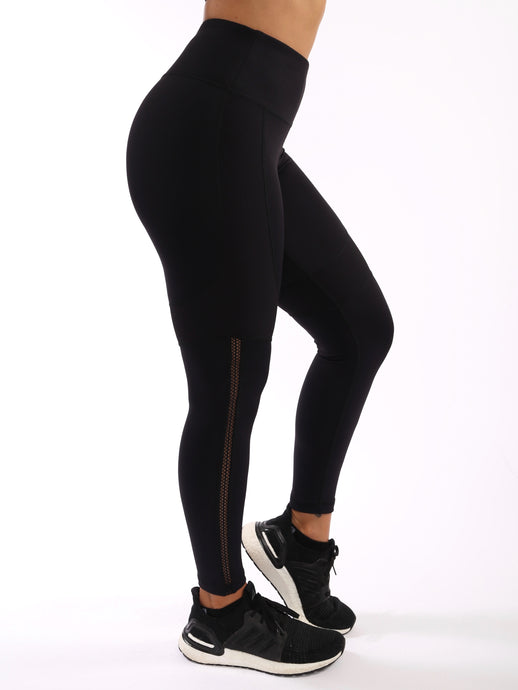 Elite Black Leggings