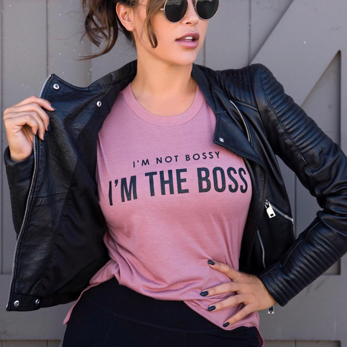 Cherí Fit - Boss Tee