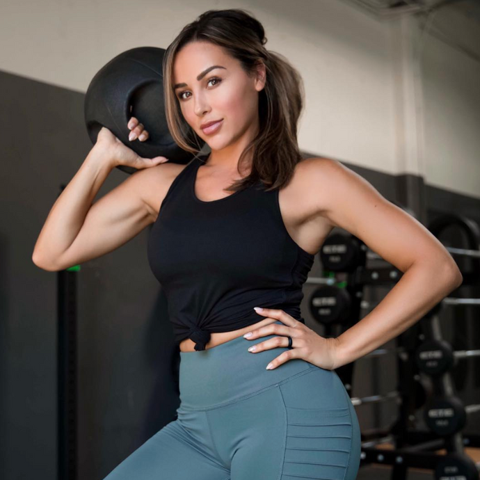 Cherí Fit - Stronger - Black Tank
