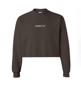 "The ""Cherí Fit"" Brown Crewneck"