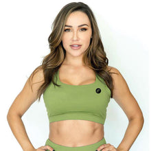 Revive Olive Sports Bra