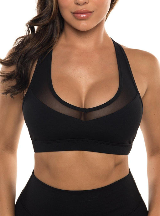 Black Laguna Sports Bra