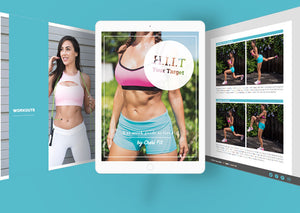 Load image into Gallery viewer, Cherí Fit - Get Fit With Ana Cheri - H.I.I.T. Your Target - 12 Week Weight Loss Program