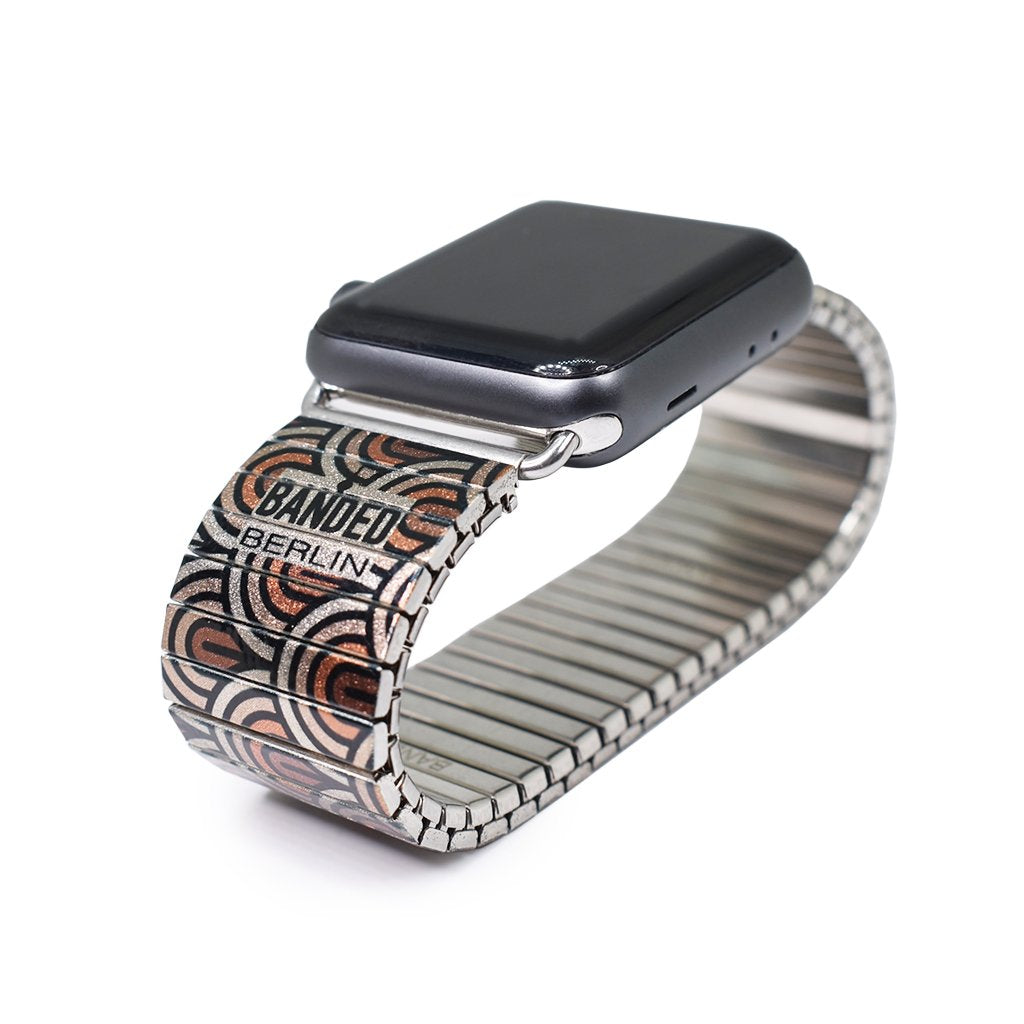 Monochrome Rainbow - Humans- Apple watch band