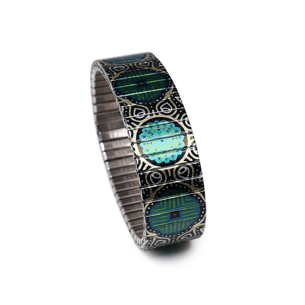 Sultan Poetics - Verde Dorado by Banded Berlin Bracelets for Spring 2020