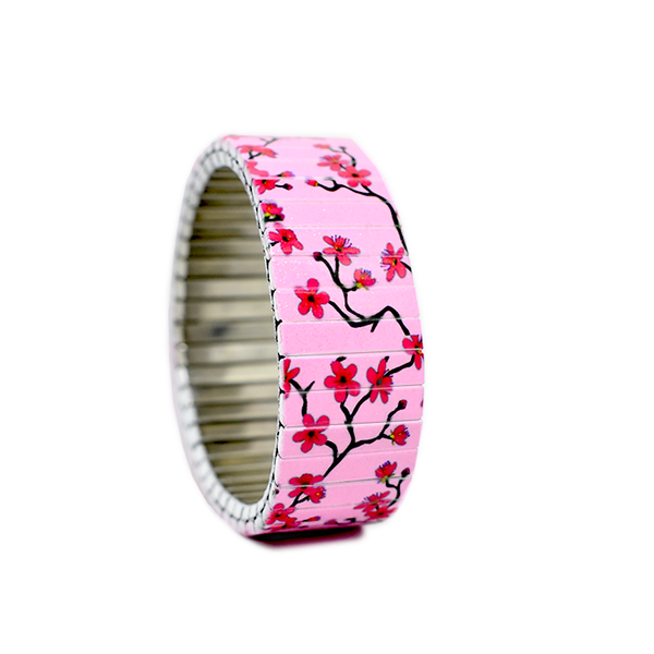 Cherry Blossom Pink by Banded-Berlin Bracelets
