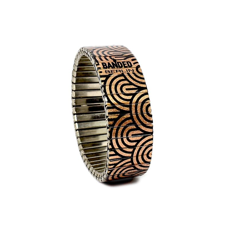 Copper Monochrome 18mm Metallic by Banded-Berlin 2020