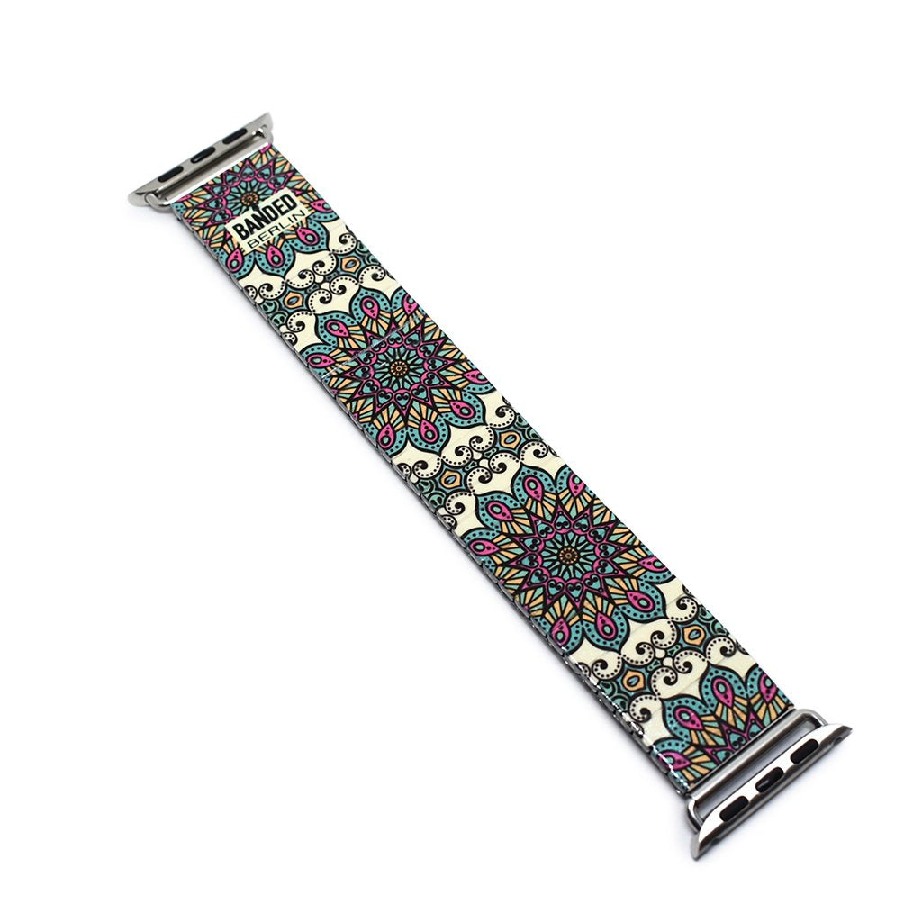 Mediterranean Tile - Monaco Banded Apple watch Classic Finish by Banded Berlin Bracelets Fall 2020