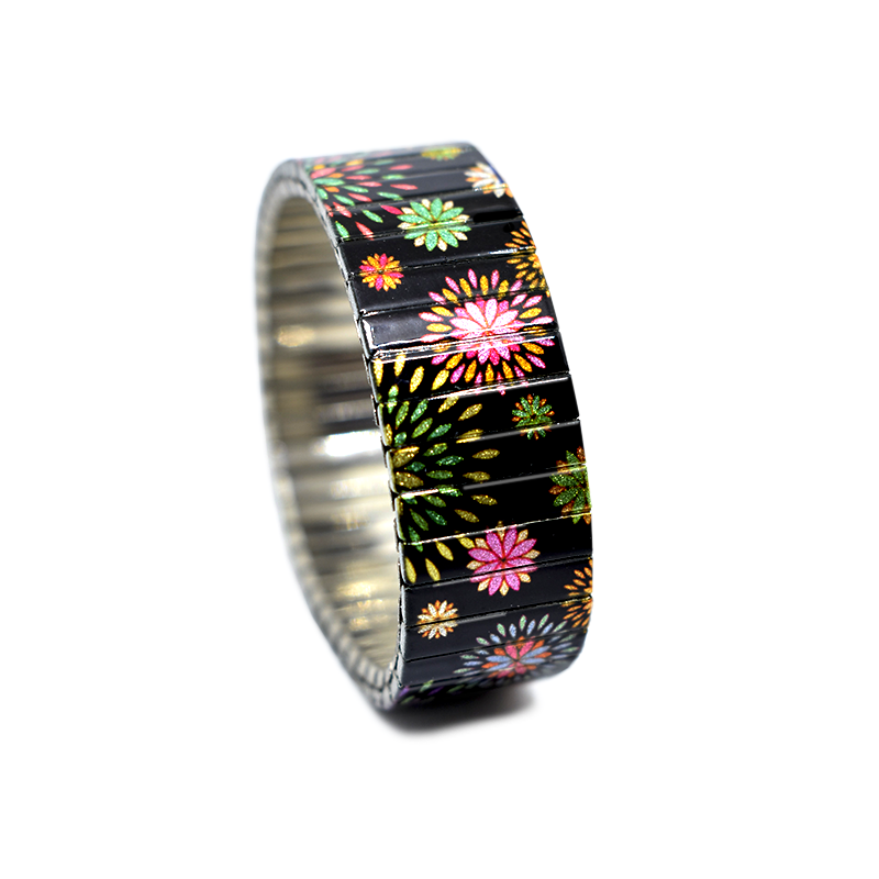 Rainbow Pedals Metallic by Banded Berlin Bracelets for 2019