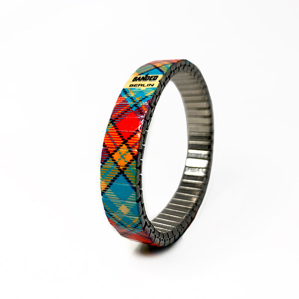 the Tartan- Sacrow Sea Slim From Banded Berlin's 2020 Tartan collection.