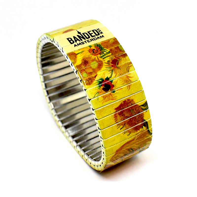 Sunflowers by Van Gogh - Banded Amsterdam Iconic Artist Series