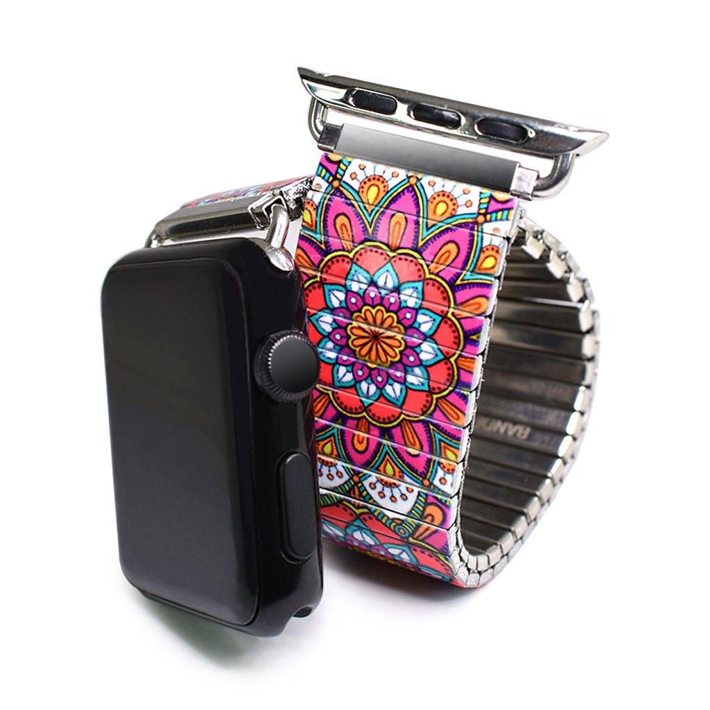 Tahitian Sunset - Passiflora Banded for Apple Watch Classic Finish