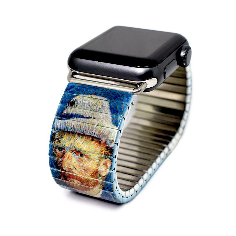 Self Portrait by Van Gogh for the Banded Amsterdam Apple Watch band Iconic Artist series