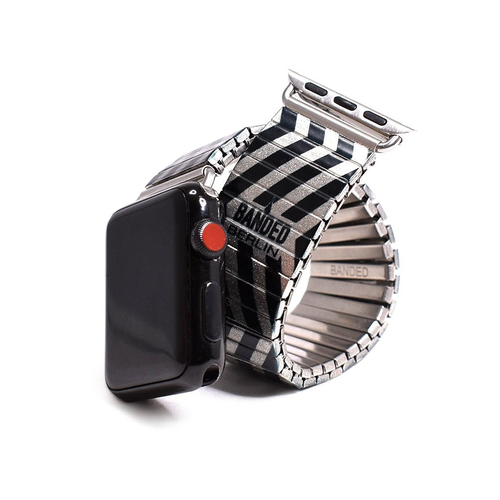 Zig Zagerated Metallic Banded for Apple Watch